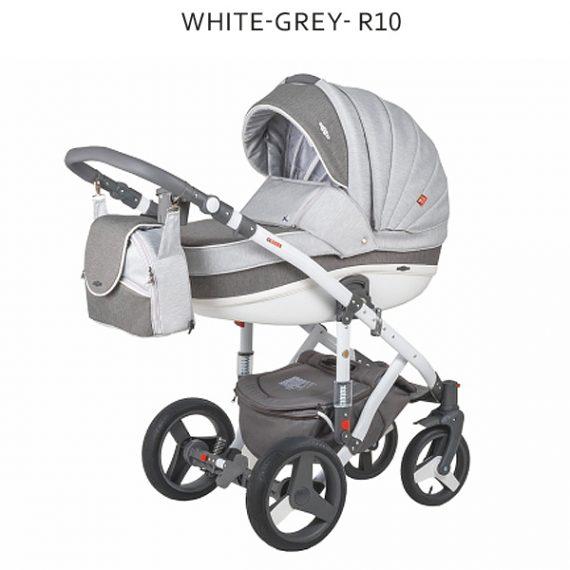 White Grey R10
