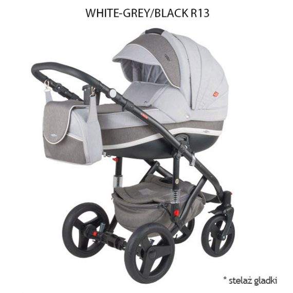 White Grey/Black R13