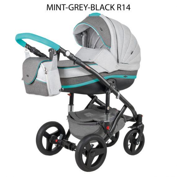 Mint Grey Black R14
