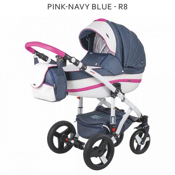 Pink Navy Blue R8