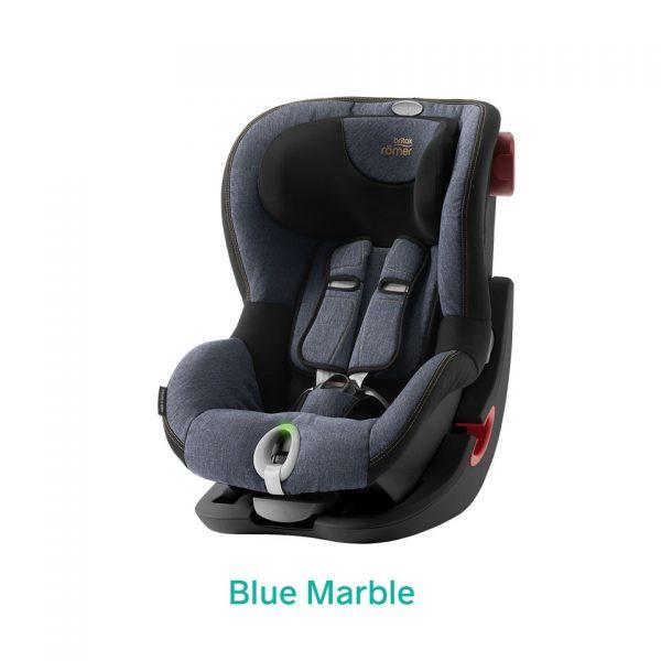 Blue Marble niebieski fotelik Romer King II LS