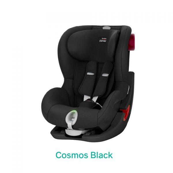 Cosmos Black czarny fotelik Romer King II LS