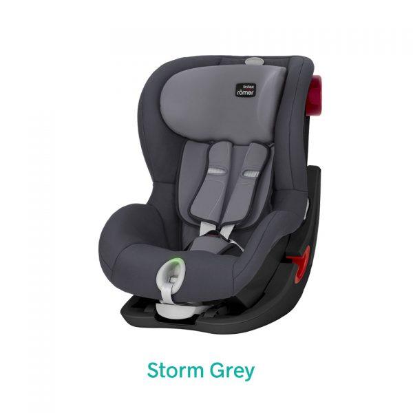 Storm Grey szary fotelik Romer King II LS