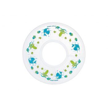 Rondo kąpielowe Canpol Babies biale w niebiesko zielone akcenty