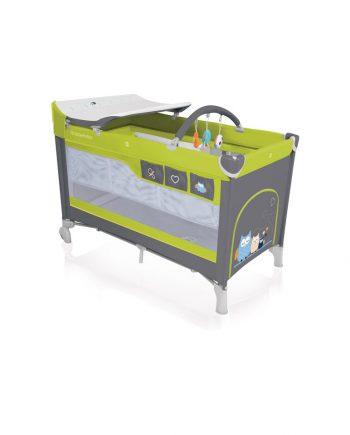 zielone lozeczko turystyczne baby design dream