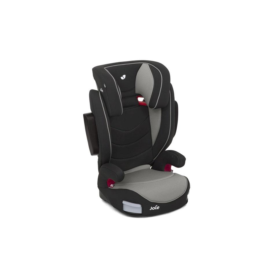 fotelik samochodowy dla dziecka szary